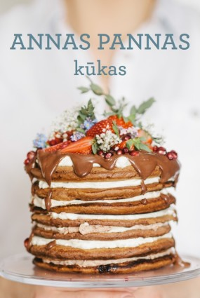 Anna Panna izdod savu kūku grāmatu
